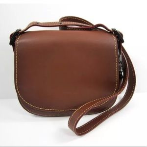Coach Glovetanned Leather Saddle Bag